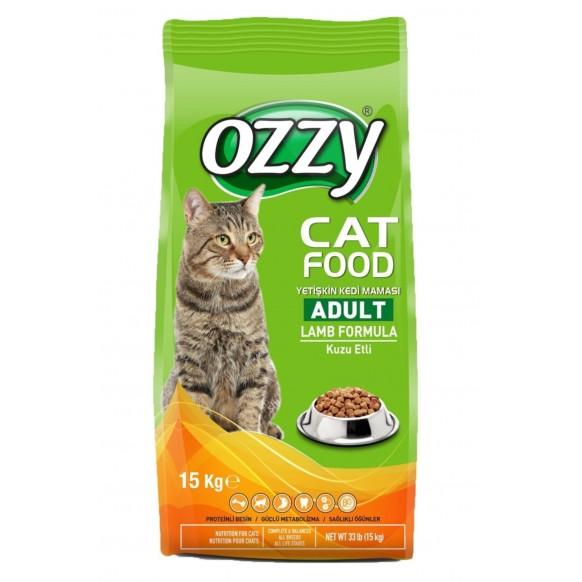 Ozzy Kedi Maması Kuzu Etli 15kg OZZY KEDİ MAMASI KUZU ETLİ 15KG